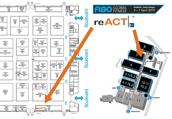 reACT Trainer - reACT an der Fibo 2019
